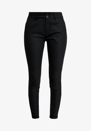 BLAKE NIGHT PANT SUSTAINABLE - Pantalon classique - black