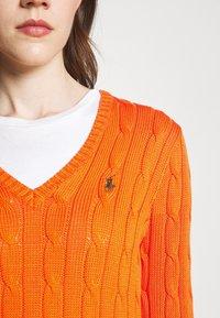 Polo Ralph Lauren - CLASSIC - Strikkegenser - fiesta orange - 4