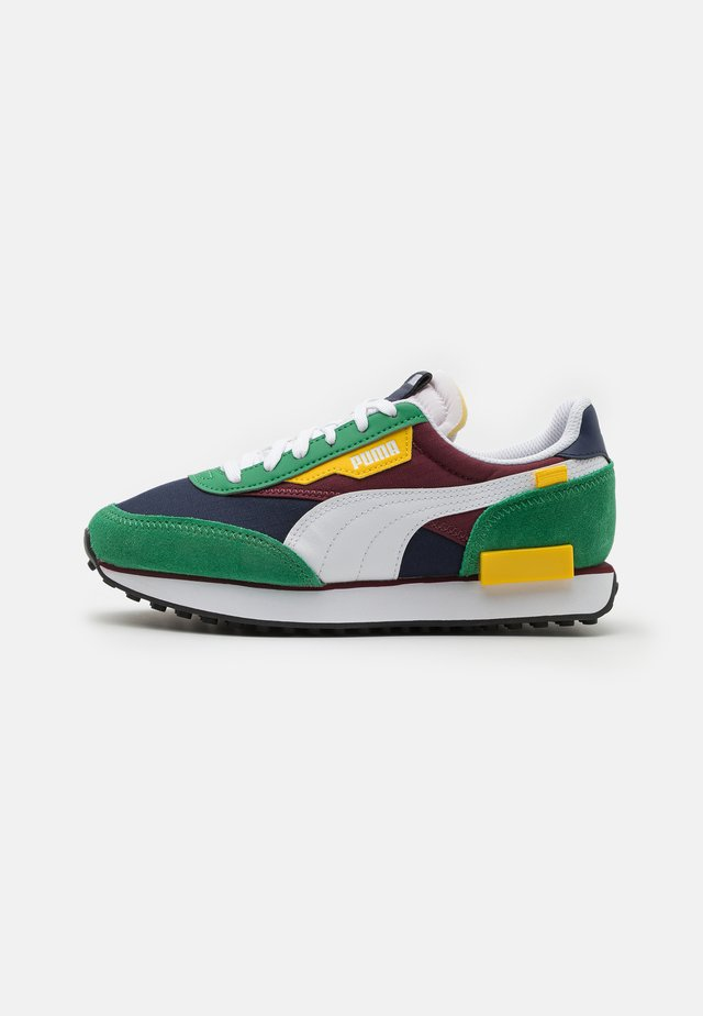 FUTURE RIDER PLAY ON UNISEX - Sneakers laag - green/white