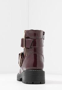 New Look - BUSY - Cowboy/biker ankle boot - dark red - 5