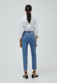 PULL&BEAR - MOM - Relaxed fit -farkut - light blue