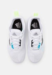 adidas Performance - ASWEETRAIN - Zapatillas de entrenamiento - footwear white/core black/signal cyan - 3