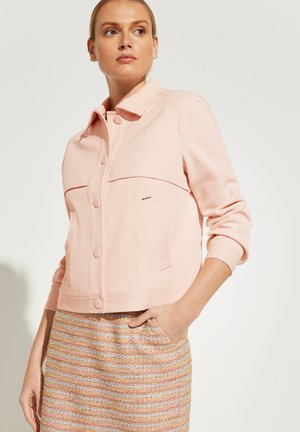 MIT SCHULTERPASSE - Summer jacket - powder rose