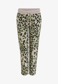 Oui - Tracksuit bottoms - light grey green - 5