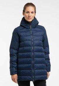 Haglöfs - DALA MIMIC PARKA  - Winter coat - tarn blue - 0