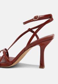 ALDO - RENDALITH - Sandals - medium red - 5
