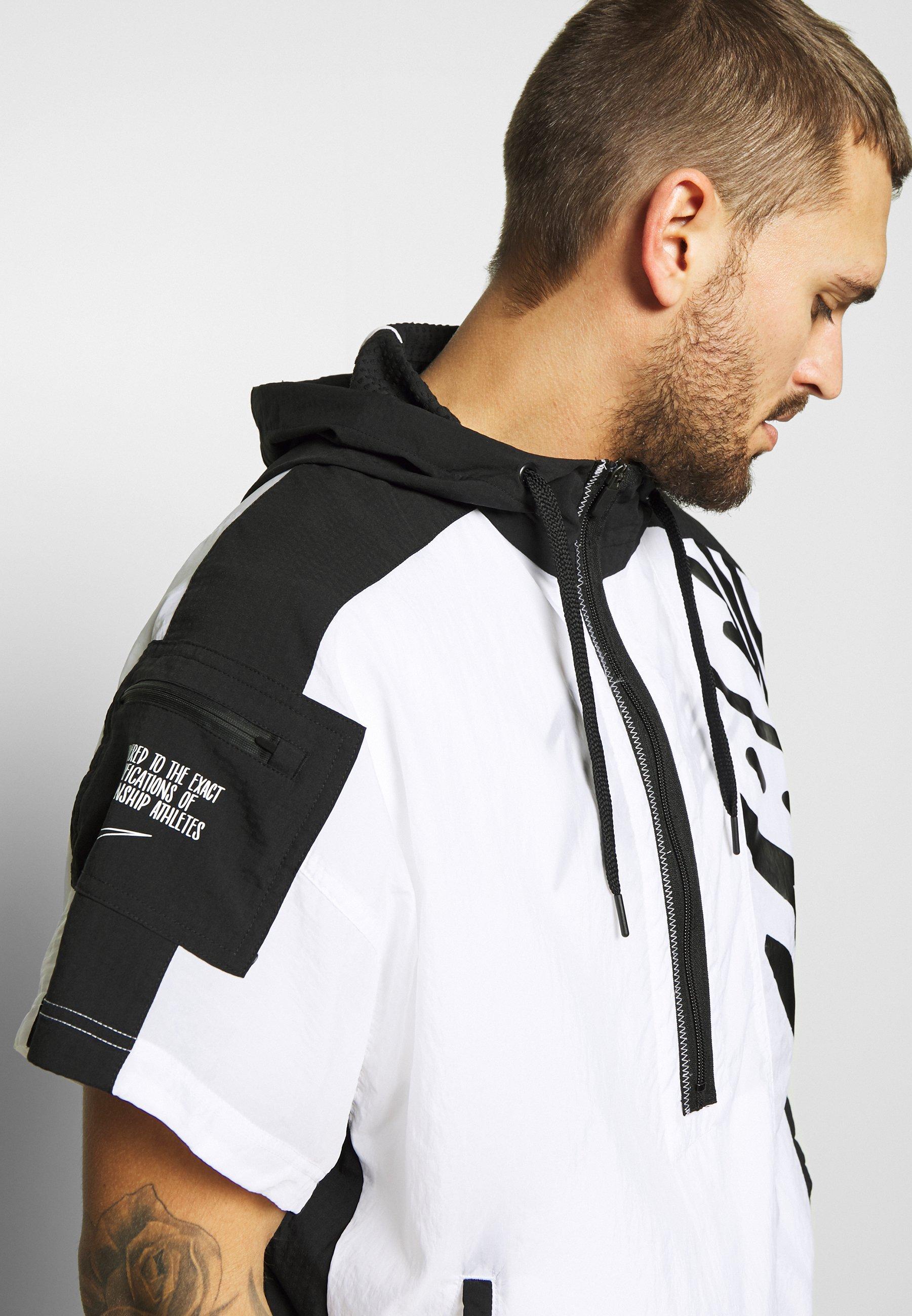 Nike Performance Veste de survêtement - white/black
