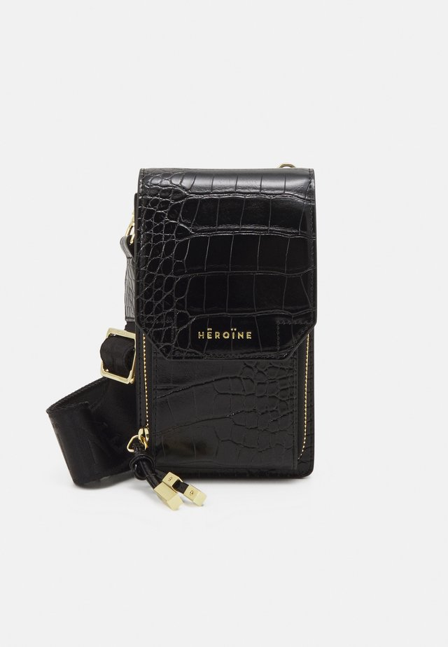 KAIA PHONE - Sac bandoulière - black