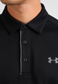 Under Armour - TECH  - Sports shirt - black/graphite - 3