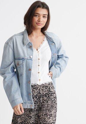 BOYFRIEND - Kurtka jeansowa - light indigo vintage