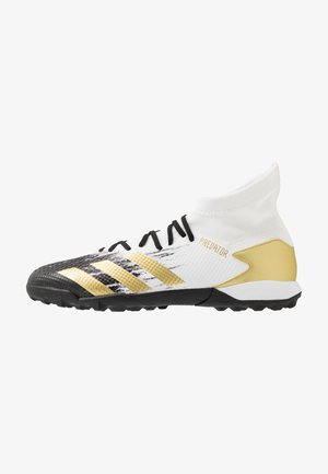 PREDATOR 20.3 FOOTBALL BOOTS TURF - Astro turf trainers - footwear white/gold/core black