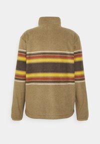 Quiksilver - CLEAN COASTS PRINT - Fleece jacket - brown - 1