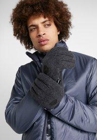 Ziener - ILDO GLOVE MULTISPORT - Gloves - dark melange - 0