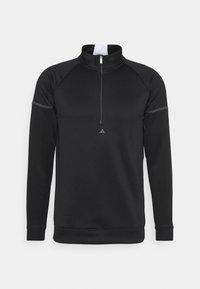 adidas Golf - EQUIPMENT 1/4 ZIP - Sweatshirt - black - 0