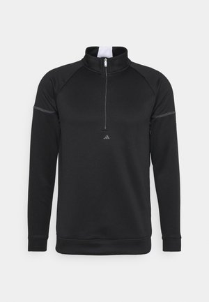EQUIPMENT 1/4 ZIP - Sweatshirt - black