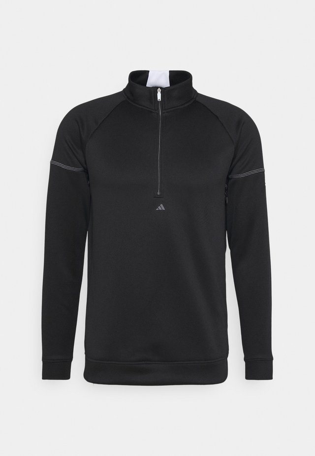 EQUIPMENT 1/4 ZIP - Mikina - black