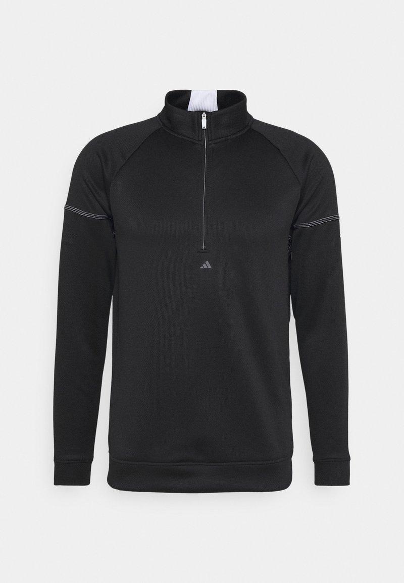 adidas Golf - EQUIPMENT 1/4 ZIP - Sweatshirt - black