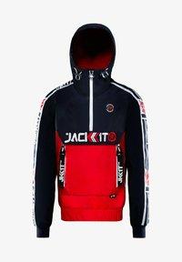 JACK1T - Summer jacket - navy/white/red - 2