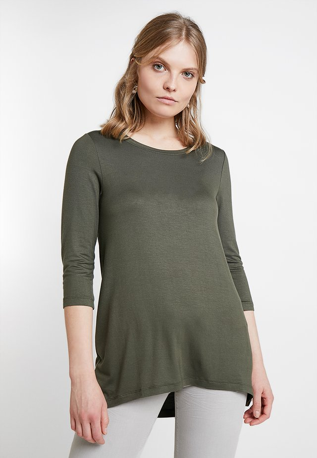 Long sleeved top - grape leaf