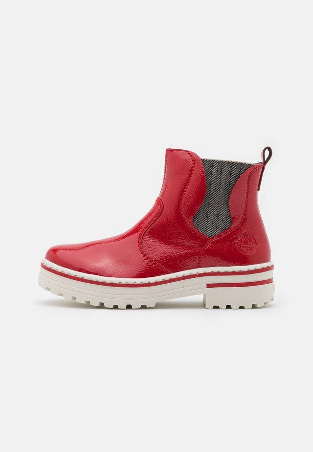 Platform ankle boots - flamme