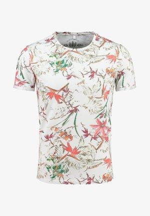 MT JUNGLES  - Print T-shirt - white