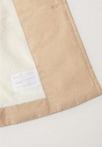 Mango - Short coat - zand - 2