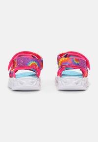 Skechers - HEART LIGHTS  - Sandaler - hot pink/blue - 2