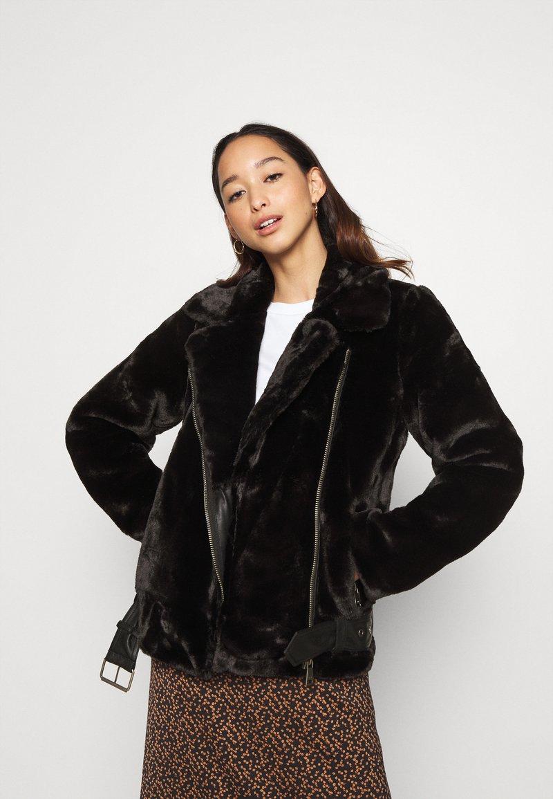 ONLY - ONLMARY BIKER - Winter jacket - black