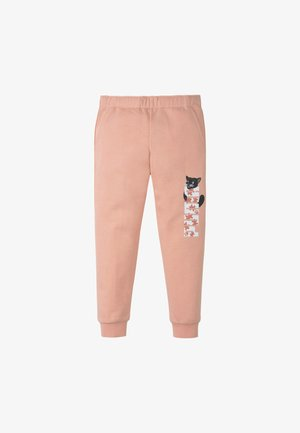 Tracksuit bottoms - apricot blush
