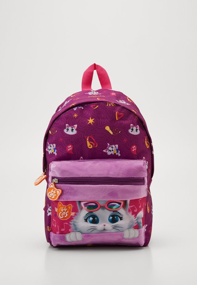 CATS KIDS BACKPACK - Sac à dos - fuchsia