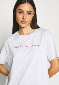 Tommy Hilfiger - ORIGINAL DRESS HALF SLEEVE - Nightie - ice heather - 5