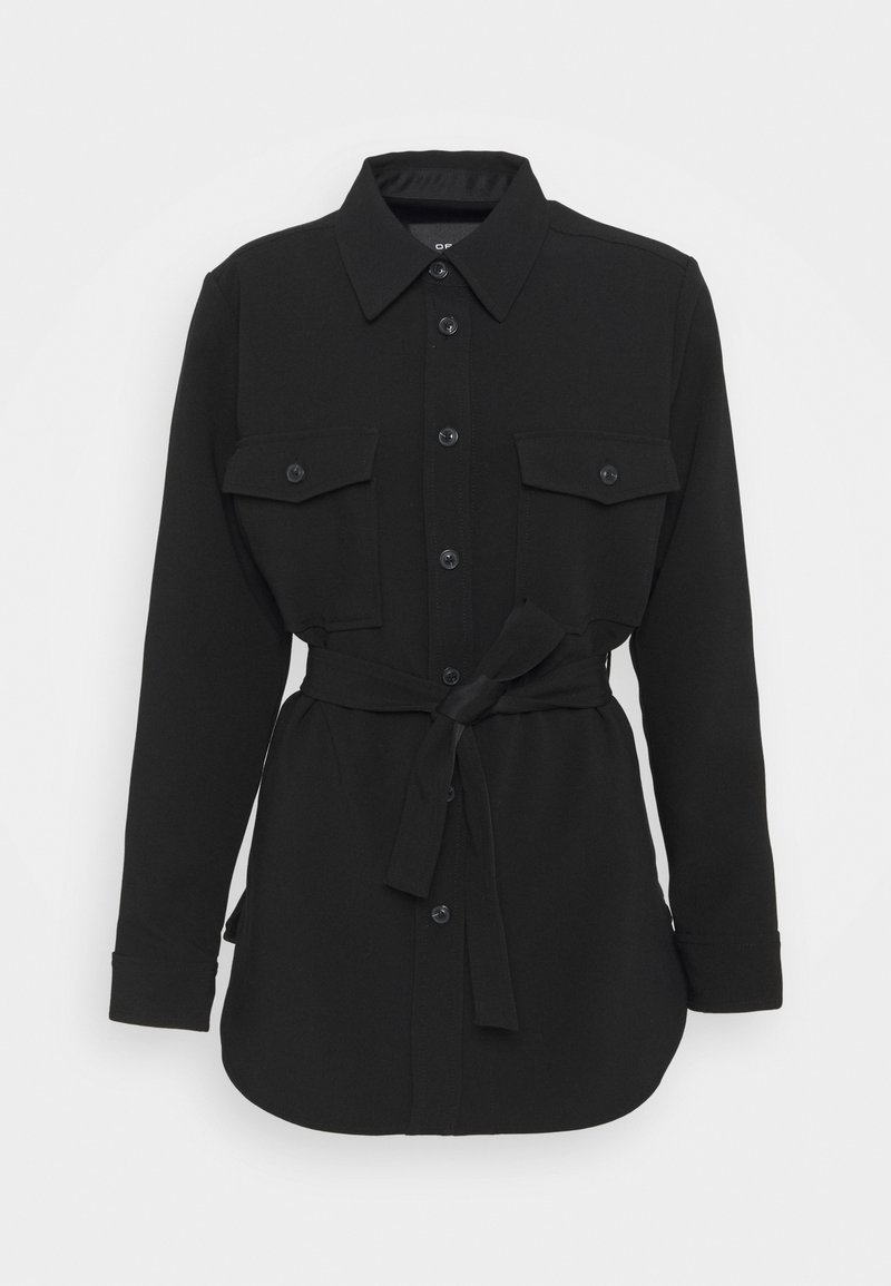 Opus - HALOLA - Krátký kabát - black