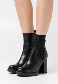 Minelli - High heeled ankle boots - noir - 0