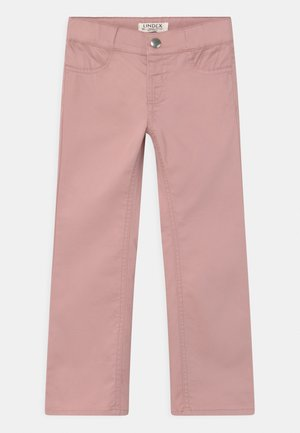 FLORA - Trousers - dusty pink
