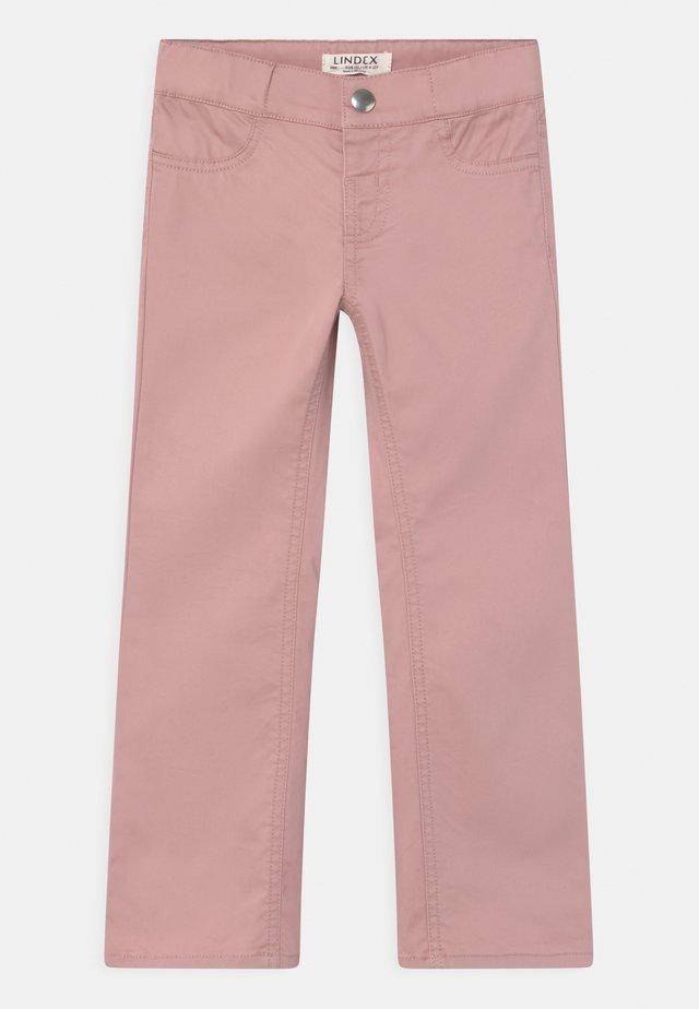 FLORA - Pantaloni - dusty pink