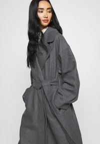 Weekday - KIA BLEND COAT - Abrigo - antracit melange