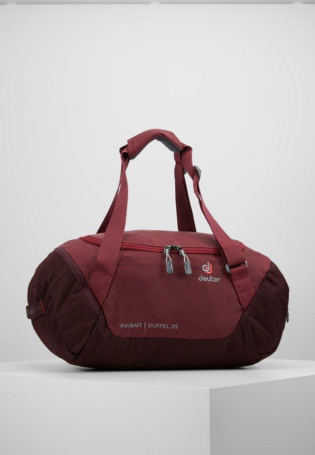 AVIANT DUFFEL 35 - Sports bag - maron/aubergine
