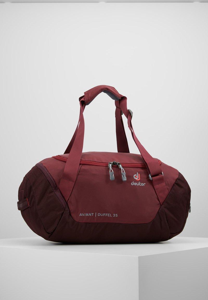 Deuter - AVIANT DUFFEL 35 - Sports bag - maron/aubergine