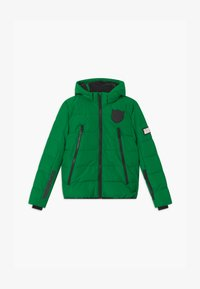 SuperRebel - SUSTAINABLE BASIC SHINY BOYS  - Snowboardová bunda - bottle green - 0