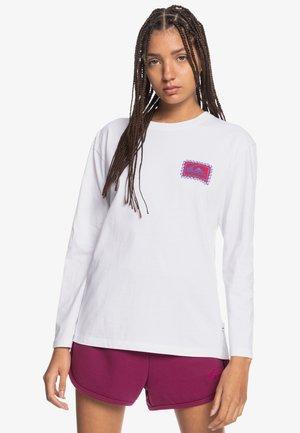 STANDARD - Long sleeved top - white