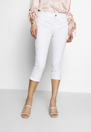 KATE CAPRI - Denim shorts - white