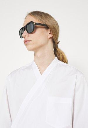 UNISEX - Occhiali da sole - black/silver-coloured