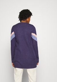 Vila - VIRIL OPEN  - Cardigan - patriot blue/stonewash - 2
