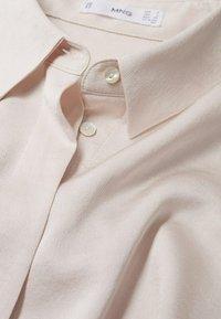 Mango - IDEALE - Button-down blouse - ecru - 6