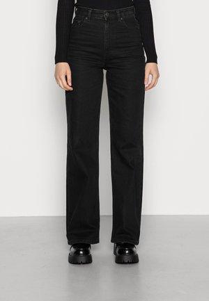 ONLCAMILLE LIFE WIDE - Jeans straight leg - black denim