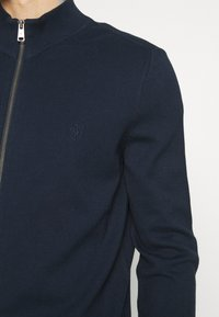 Marc O'Polo - JACKET WITH ZIP - Cardigan - total eclipse - 4
