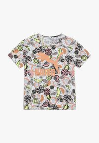 Puma - CLASSICS FRUIT TEE - Camiseta estampada - white - 0