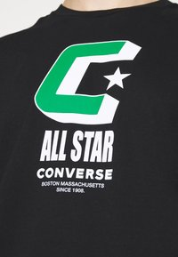 Converse - BALL TEE - Print T-shirt - black - 4