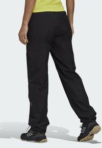 adidas Performance - W MT RAIN PANT - Bukse - black - 8