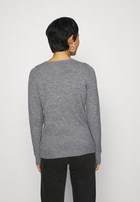 Dorothy Perkins - CHRISTMAS PENGUIN BOBBLE JUMPER - Jumper - grey marl - 2